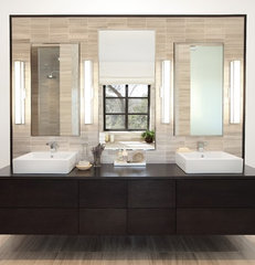 contemporary bathroom by Soledad Builders, LLC