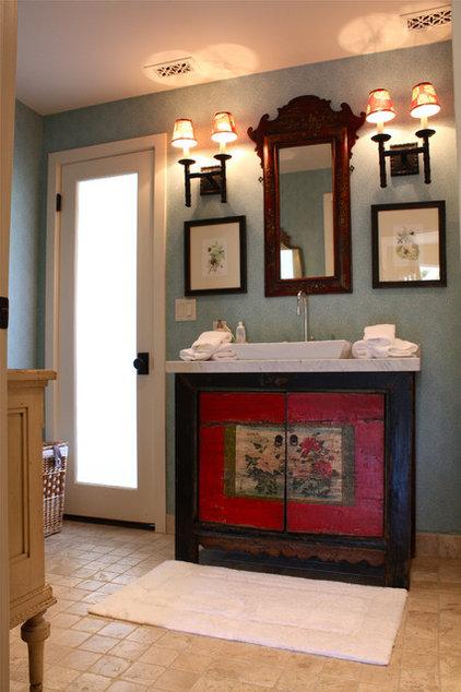 Farmhouse Bathroom by Shannon Malone