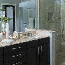 Contemporary Bathroom by Maryott Custom Interiors