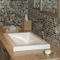 Contemporary Bathroom by Marzi Sinks