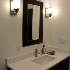 Contemporary Bathroom by RJK Construction Inc
