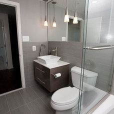 Contemporary Bathroom by Jeanine Turner