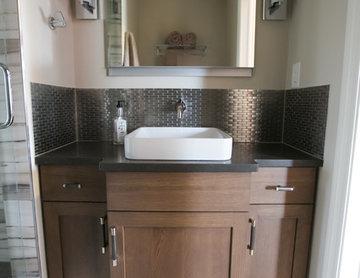 Masculine Industrial Styled Bathroom