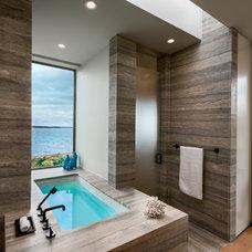 Contemporary Bathroom by Blaze Makoid Architecture