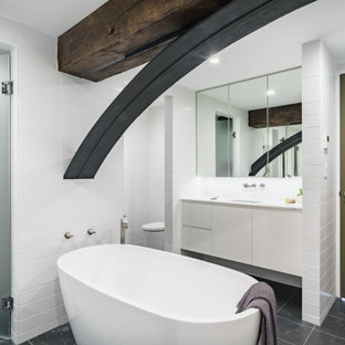 Inspiration for an industrial bathroom in Sydney.