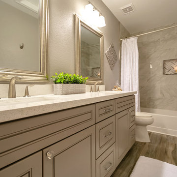 Master & Guest Bathrooms (Curry)