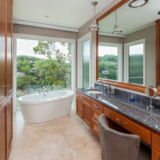 Transitional Bathroom by Jenkins Custom Homes