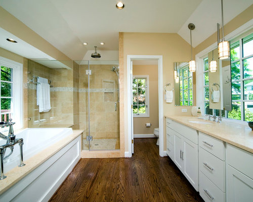 Master Bath Addition Over Garage Chevy Chase Md