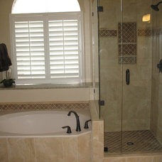 Traditional Bathroom by Agape Home Services
