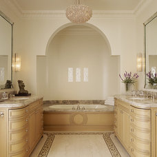 Mediterranean Bathroom by Alderson Construction