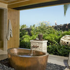Knudson Interiors Tropical Bathroom Hawaii By
