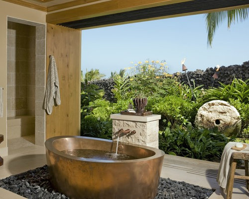 Houzz Garden Bathtub Home Design Design Ideas Remodel Pictures
