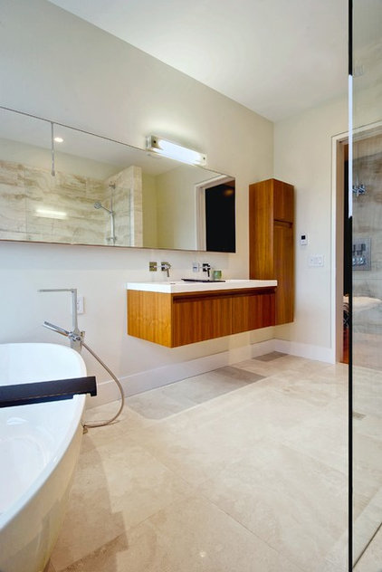 Modern Bathroom by Andrew Snow Photography
