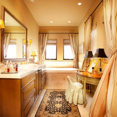 traditional bathroom by Aneka Interiors Inc.