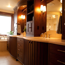 Contemporary Bathroom by Aneka Interiors Inc.