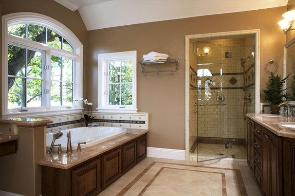 Traditional Bathroom by Arch Studio, Inc.