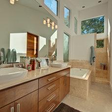Modern Bathroom by Barron Custom Design, LLC
