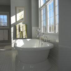 Contemporary Bathroom by Berghuis Construction LLC