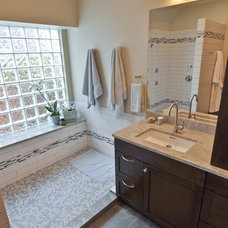 Contemporary Bathroom by Brooke B. Sammons