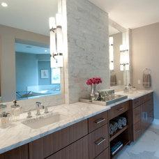Contemporary Bathroom by Butter Lutz Interiors, LLC