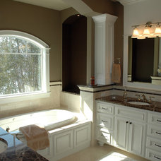 Traditional Bathroom by Behr Design