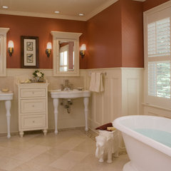 traditional bathroom by Carisa Mahnken Design Guild