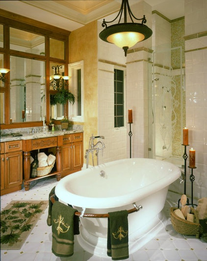 traditional bathroom by Carleen Doster, ASID