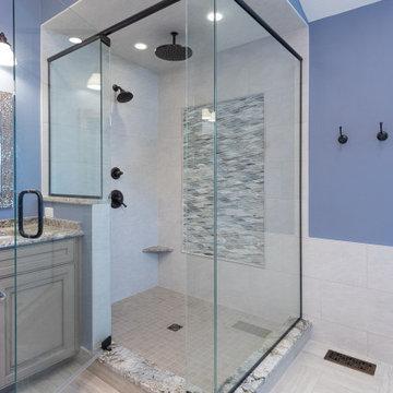 Master Bath - Carmel IN - 2020