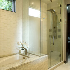 contemporary bathroom by Centennial Renovation Studio