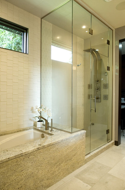Contemporary Bathroom by Centennial 360