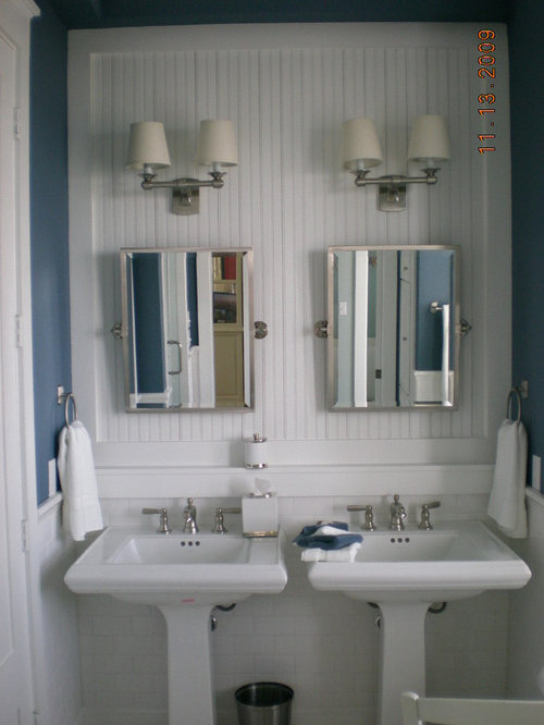 Subway Tile Beadboard Home Design Ideas Pictures Remodel And Decor