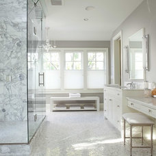 traditional bathroom by Charlie Simmons - Charlie & Co. Design, Ltd.