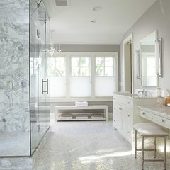 contemporary bathroom by Charlie Simmons - Charlie & Co. Design, Ltd.