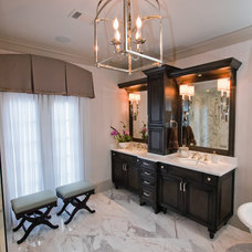 Eclectic Bathroom by East Coast Crafters, LLC.