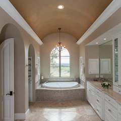 traditional bathroom by David Mills Custom Homes