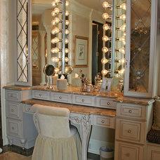 Traditional Bathroom by Design by Courtney, LLC