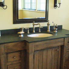 Eclectic Bathroom by Design In Real Life