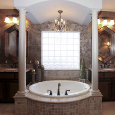 Traditional Bathroom by Designer's Touch
