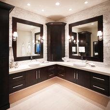 Transitional Bathroom by Designs by Craig Veenker