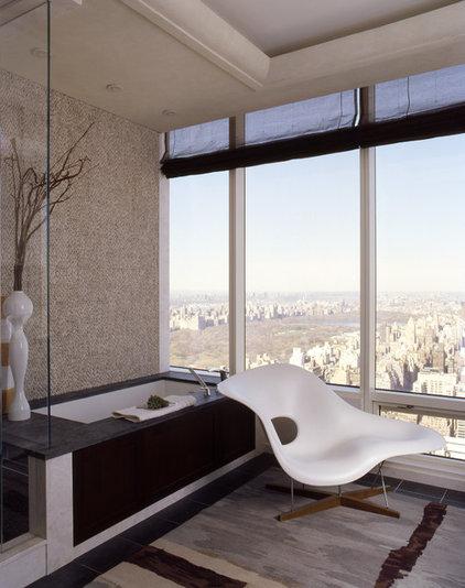Modern Bathroom by Diane Paparo Associates