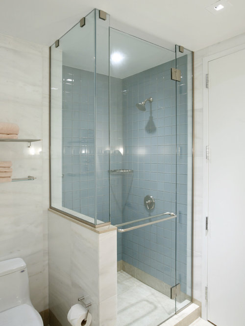 lowes Small Bathroom Design Photos with Blue Tile