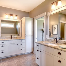 Transitional Bathroom by Divine Custom Homes