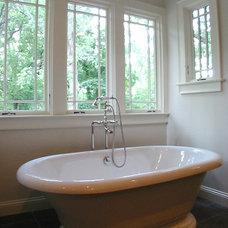 Craftsman Bathroom by Dresser Homes