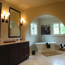 Mediterranean Bathroom by Dresser Homes