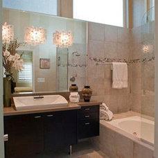 Contemporary Bathroom by dRichards Interiors