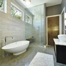 Contemporary Bathroom by Ecolution Design Solutions