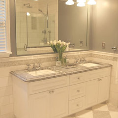 traditional bathroom by Elizabeth P. Lord Residential Design