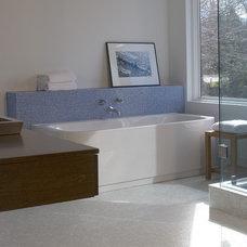 Modern Bathroom by Ellen McKenna Design