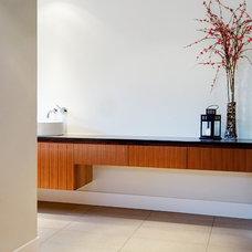 Modern Bathroom by Roundabout Studio Inc.