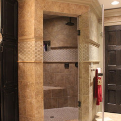 traditional bathroom by Fine Renovations Inc.